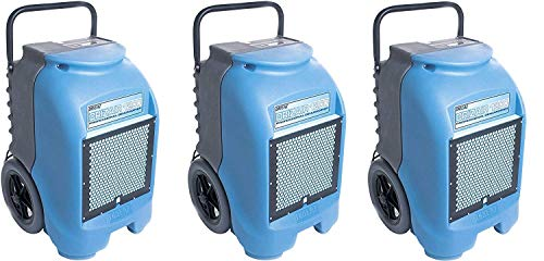 Great Price! Dri-Eaz DrizAir 1200 Low-Temperature Refrigerant Dehumidifier 3-Pack