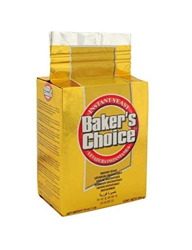 of yeast for baking 1 lbs Bakers Choice Gold Yeast 1lb (1)