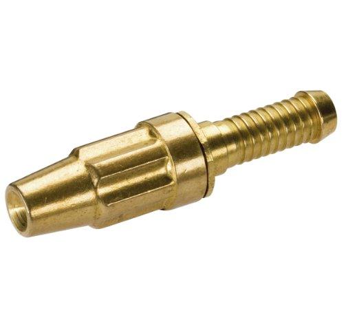 Gardena Standard Messing-Spritze: Metall-Gartenspritze zum Anschluss an 13 mm (1/2 Zoll)-Schläuche, Wasserstrahl regulierbar und absperrbar (7160-20)