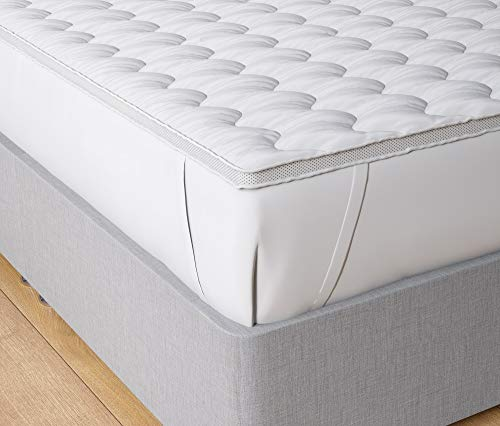 Home Sweet Home UK Luxury Ultra Soft Air Fresh Microfiber Mattress Topper Dual layer Quality Comfort Sleep