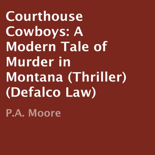 Courthouse Cowboys audiobook cover art