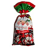 Russell Stover (1) bag Solid Milk Chocolate Mini Santas - Individually Wrapped Holiday Candy - Net Wt. 10 oz