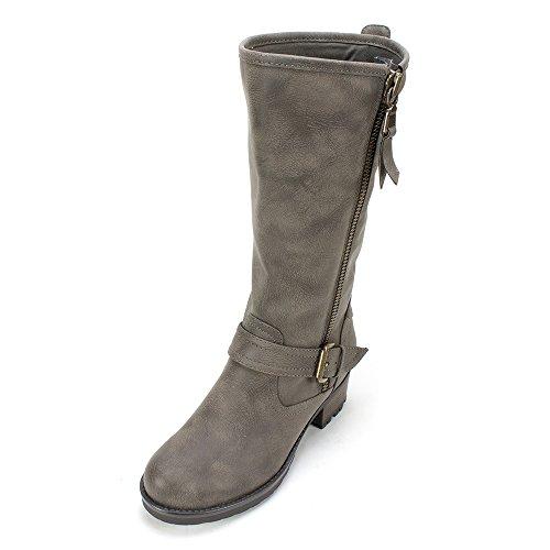 WHITE MOUNTAIN 'BACKBEAT' Women's Boot, Stone - 9 M