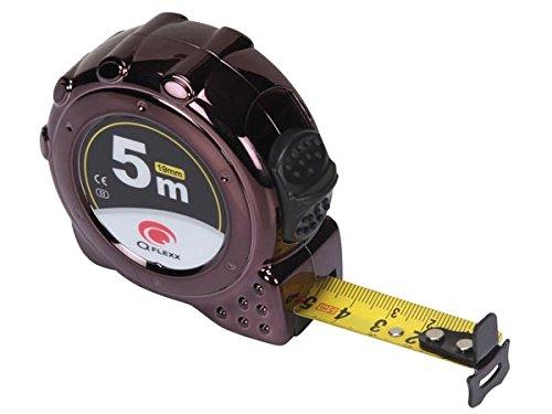 Toolland QFlexx 177167, Flessometro WM41500, Alloggiamento in ABS, Protezione UV, 5m/19 mm