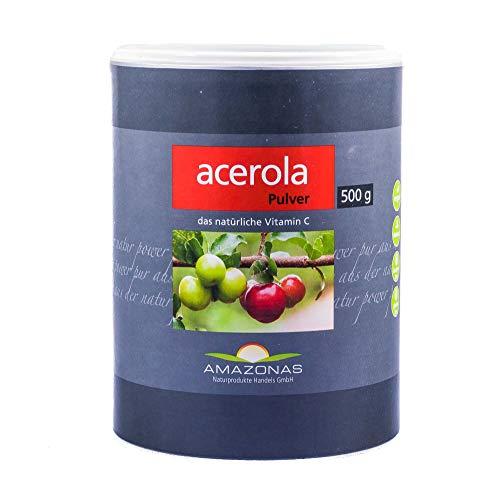 Amazonas Acerola 100% Pulver, 500 g