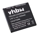 vhbw Akku Ersatz für Sony BA900 für Handy Smartphone Handy (1500mAh, 3,8V, Li-Ion)