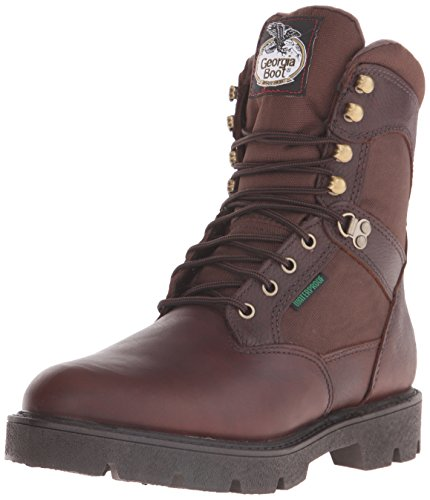Georgia Homeland Waterproof Work Boot (12.5 UK, Brown)