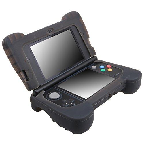 Pandaren® Silikon handgriff Schutzhülle für NEW 3DS (kleines Modell) (nicht für alte Version 3DS)