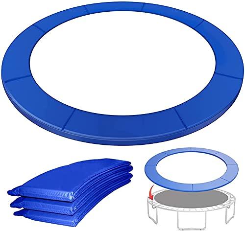 VULLDWS Acolchado de la cubierta de resorte de trampolín, envolvente acolchado de trampolín, 6FT 8FT 10FT 12FT 13FT 14FT, espuma EPE (espesor: 15 mm, ancho: 240-2900mm), resistente a los rayos UV, par