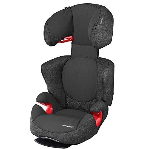 Bébé Confort Rodi AirProtect Kinderautositz, 15-36 kg, Gruppe 2/3, für Kinder von 3,5 bis 12 Jahren, Neigung, einfache Montage, Schwarz