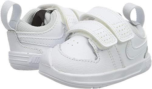 Nike Unisex Baby Pico 5 (Tdv) Sneaker, Weiß (White/White-Pure Platinum), 17 EU (1.5C UK)
