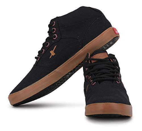 Product Image 6: Sparx Men's SC0282G Black Tan Sneakers 6