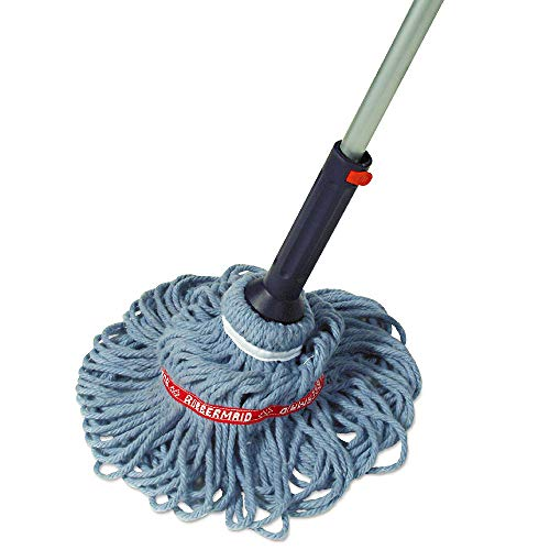 Rubbermaid Self-Wringing Ratchet Twist Mop with Blended Yarn Head, 54-inch (1809375)