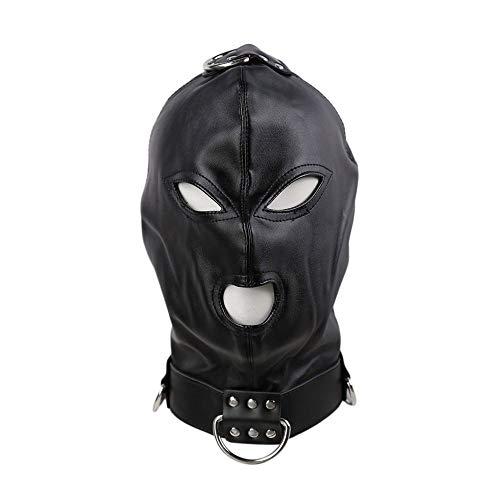 XO-KOX Capucha Unisex Cubierta de Cabeza Transpirable Sombrerera para Adultos - Mscara de Perro Animal Sexy Ojo Abierto Disfraz de Cosplay con Capucha y Boca
