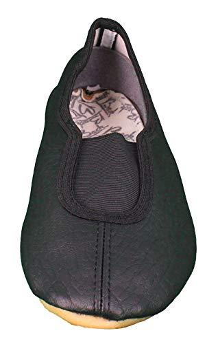 Beck Basic 020, Zapatillas de Gimnasia, Negro (Negro 02), 23 EU