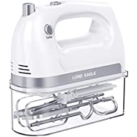 Lord Eagle 400W Electric Hand Mixer with 5 Stainless Steel Accessories