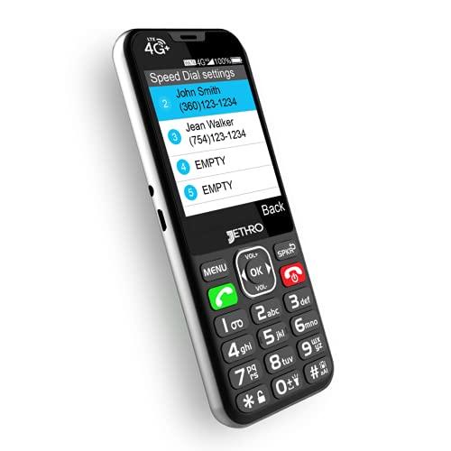Jethro 4G Bar Phone For Seniors