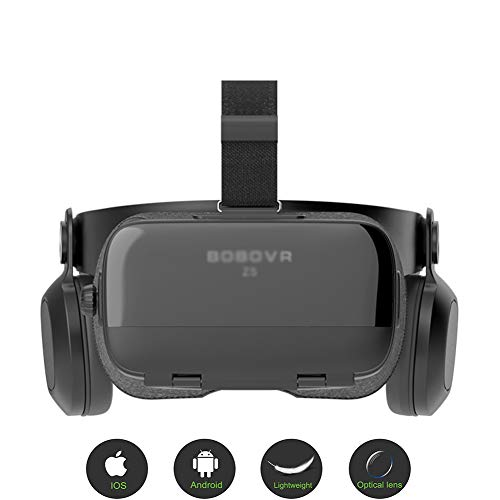 Why Choose MMGN VR Headset,3D VR Glasses with HD Stereo Headphones Virtual Reality Headset Compatibl...