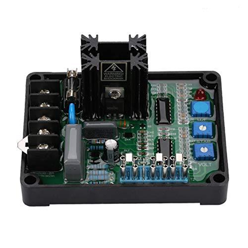 Generator Auto Voltage Regulator, GAVR‑8A Universal AVR Generator Automatic Voltage Regulator Module 110/220/440 VAC Programmable Input