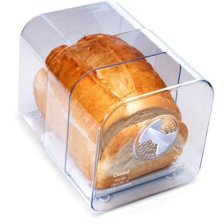 Expands Up To 11 Long, Durable And Corrosion Free, Adjustable Bread Keeper, Clear by Unknown