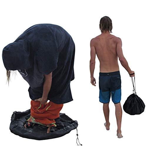 FAMKIT Wetsuit cambiador estera/impermeable bolsa seca/mojada para surfistas buceo impermeable bolsa seca protectora