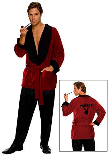 Rubies 3 889295 std - Kostüm Playboy Hugh HEFNER Größe STD