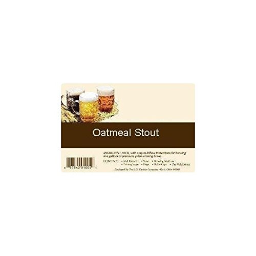 Oatmeal Stout All Grain Advanced Homebrew Beer Ingredient Kit