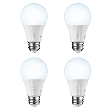 Sengled Element Classic Smart LED Light Bulb (Hub Required), A19 Dimmable LED Light Daylight 5000K 60W Equivalent, Works with Alexa/Echo Plus/SmartThings / Google Assistant, 4 Pack