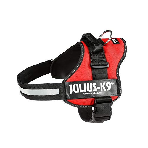 Julius-K9 K-9 Powerharness, Size 2, Red (162R2)