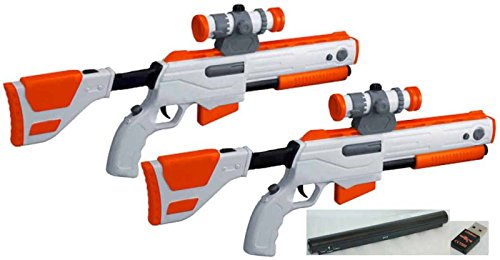 Cabela S Top Shot Elite Rifle Gun With Sensor And Usb For Ps3 Pack Of 2 Buy Online In Bulgaria At Bulgaria Desertcart Com Productid 21935407