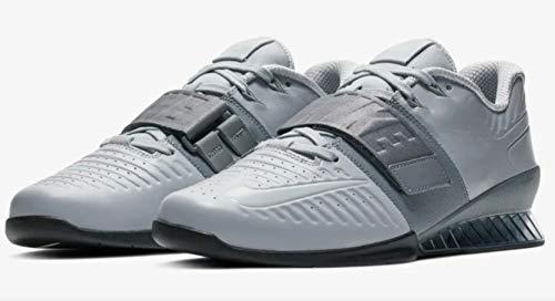 Nike Romaleos 3 Xd, Calzado Deportivo Unisex Adulto, Multicolor Wolf Grey Cool Grey Black 010, 47.5 EU