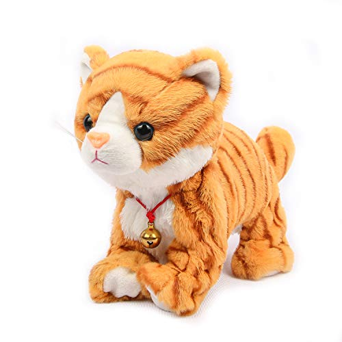 Smalody Peluche elettronico Robot Cat giocattolo interattivo per animali domestici domestici per bambini festa regalo