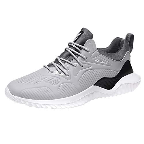 BoyYang Schuhe Damen Laufschuhe Sneaker Straßenlaufschuhe Sportschuhe Turnschuhe Outdoor Leichtgewichts Freizeit Atmungsaktive Netzoberfläche Fitness Schuhe