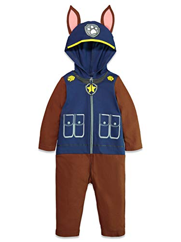 Nickelodeon Paw Patrol Marshall Boys  Hooded Costume Coverall (18 Months, Chase)