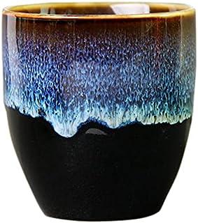 KU Syang Large Ceramic Tea Cup Kung Fu Tea Set Cup Teaware Personal Single Cup Household Water Cup Master Cup Porcelain Te...