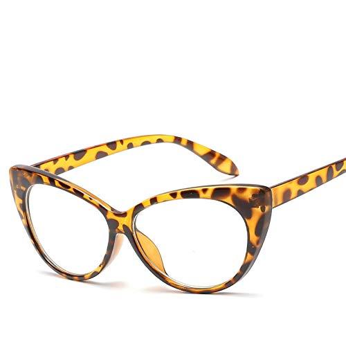 Gafas de Sol Sunglasses Nuevas Gafas De Sol Retro Sexy Cateye para Mujer, Gafas De Sol De Diseñador Vintage Cateyes, Gafas De Moda para Mujer, Gafas Uv400, Tonos C11Anti-UV