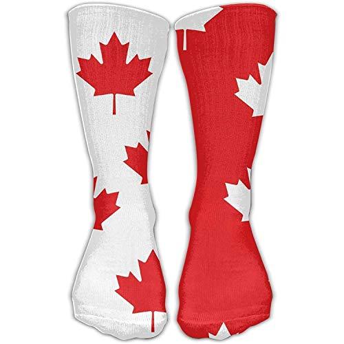 Bag shrots Canada Flag Maple Leaf Novelty Cotton Crew Socks Casual Ankle Dress Socks for Men&Women