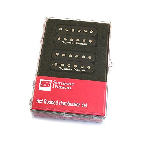 Set de pastillas de guitarra Seymour Duncan Hot Rodded Humbucker Set. Negro.