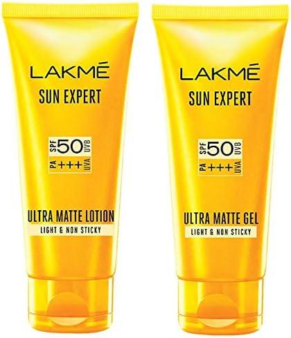 Lakme Sun Expert SPF 50 Ultra Matte Lotion, 100 ml