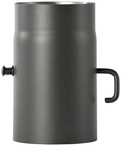 Tuyau Bertrams - Pour poêle - 2 mm x 25 cm - Avec accélérateur Senotherm UHT-Hydro laqué, gris, 1965102