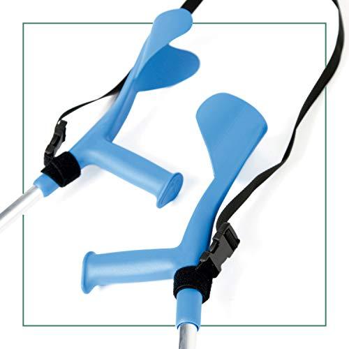 ORTONES | Krückenband | Halteband für Gehhilfen und Krücken | Unterarmgehstützen