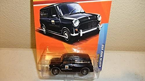 MATCHBOX 2011 RELEASE CITY ACTION  72 OF 100 negro EXPRESS ROYAL COURIERS LTD AUSTIN MINI VAN by Matchbox