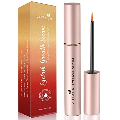 Votala Quality Eyelash Growth Enhancer and Brow Serum for Long, Natural Extract Eyelash Growth Serum FG Eyelash Enhancer for Longer, Thicker and Fuller Eyelash 3ml