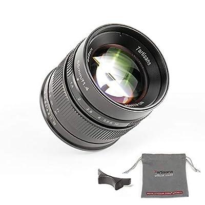 7artisans 55mm F1.4 APS-C Manual Fixed Lens für Fuji X Mount Cameras Like X-A1 X-A10 X-A2 X-A3 X-at X-M1 XM2 X-T1 X-T10 X-T2 X-T20 X-Pro1 X-Pro2 X-E1 X-E2 X-E2s by 7artisans
