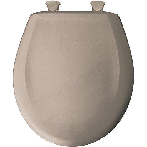 Bemis 200SLOWT 068 WC-Sitz mit Absenkautomatik, rund, geschlossene Front, Beige