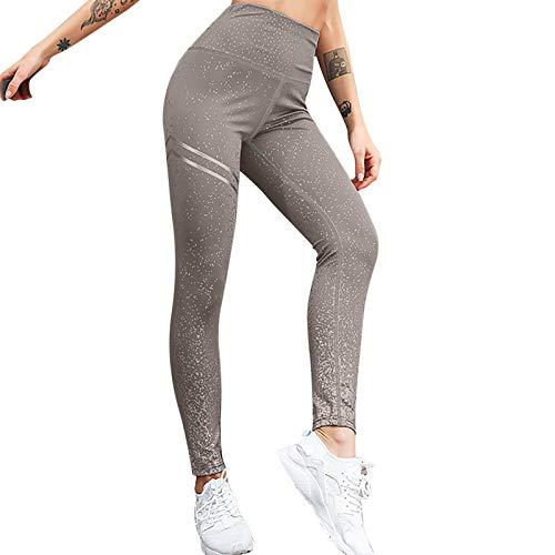 iCJJL Women's Sparkle Glitter Leggings