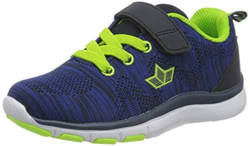 Lico Colour Vs, Chaussures de Marche Nordique Mixte, Bleu (Blau Schwarz Lemon Blau Schwarz Lemon), 39 EU