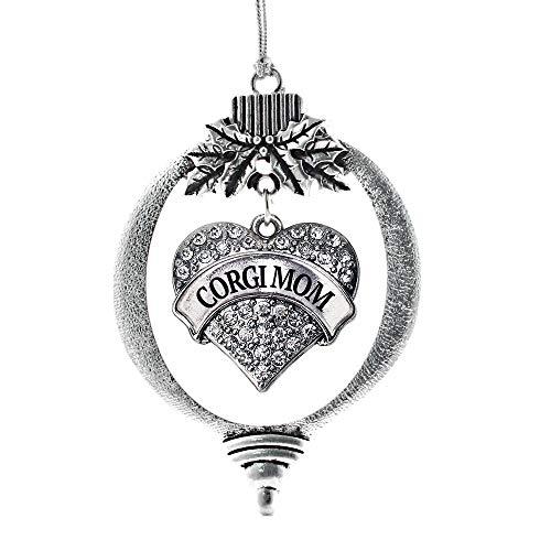 Corgi Mom Charm Ornament