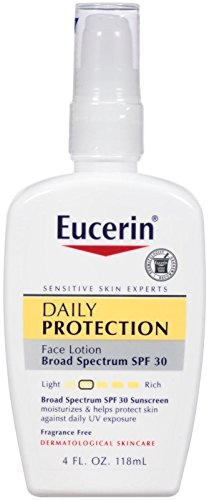Everyday Protection Face Lotion with SPF 30 for Face & Body, 4 oz by Eucerin