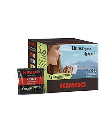 Kimbo Coffee ESE Espresso Pods (Espresso Napoletano, 200 Pods)
